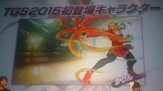 TGS 2015: Karin Is The New Street Fighter 5 Character