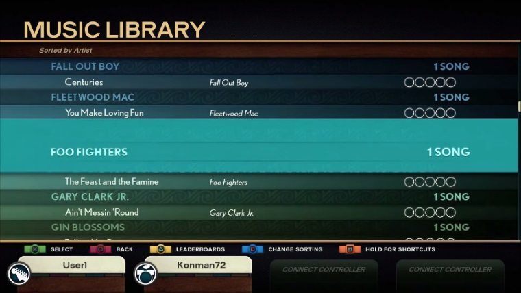 Rock Band 4 Guide: How to Import Songs from RB1 & 2 and DLC