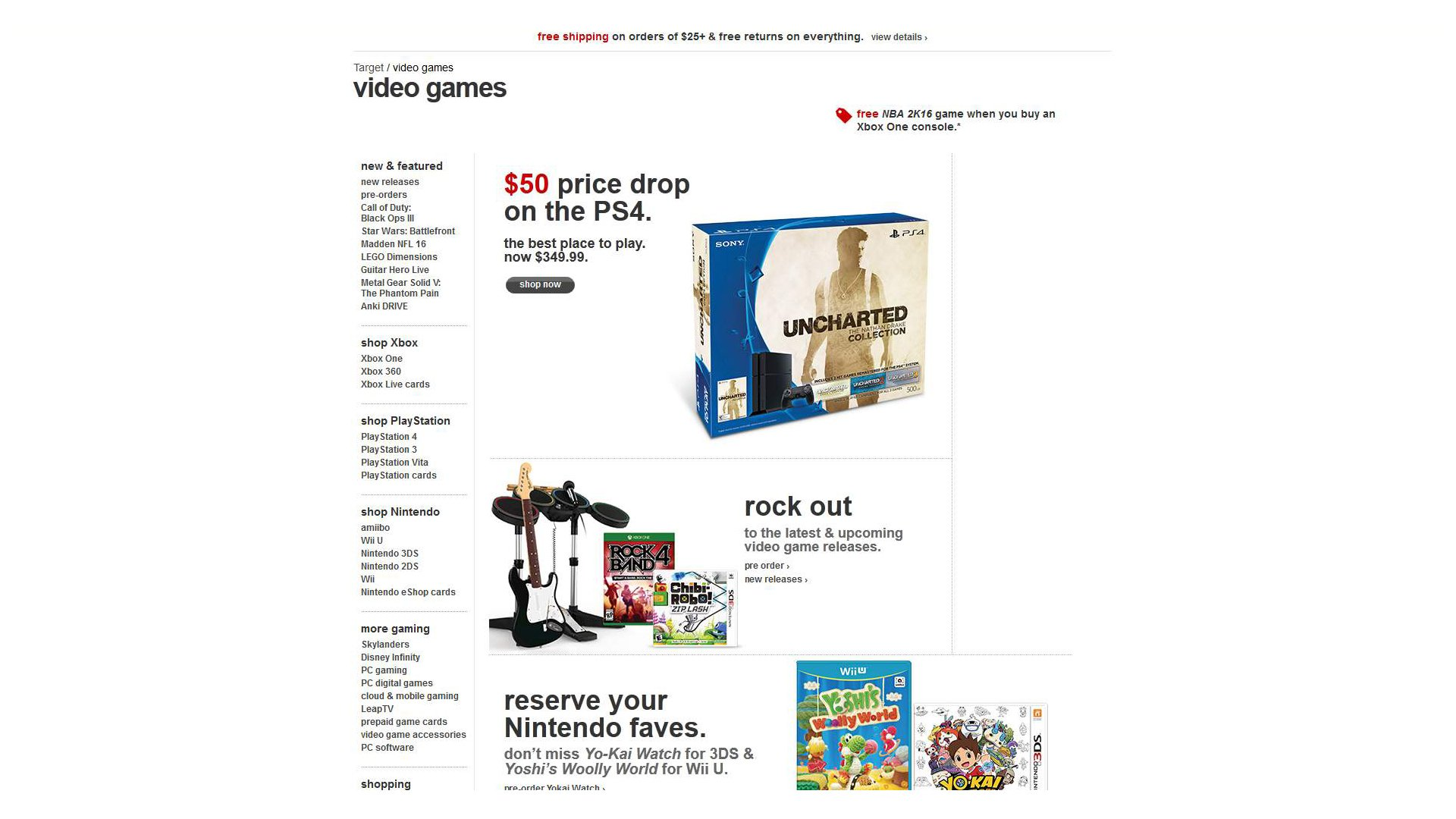 Target-Retailer-PS4-Price-Drop