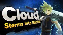 Cloud Final Fantasy Super Smash Bros