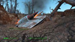 Fallout 4 Crashed UFO Alien Blaster