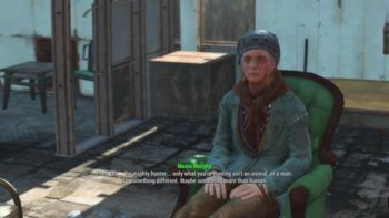 Fallout 4 Guide: How to Build Mama Murphy's Chair