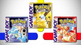 Pokemon Red Blue Yellow