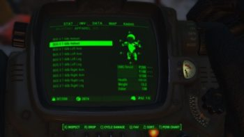 Fallout 4 Guide: How to Carry More Items When Overencumbered