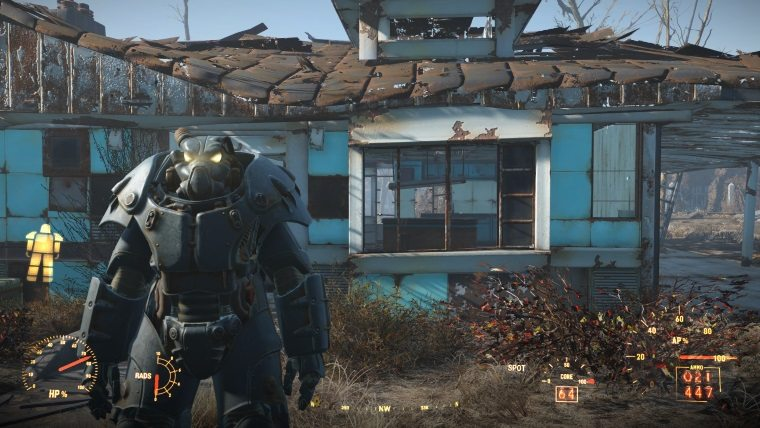 Fallout 4 Power Armor Locations X-01