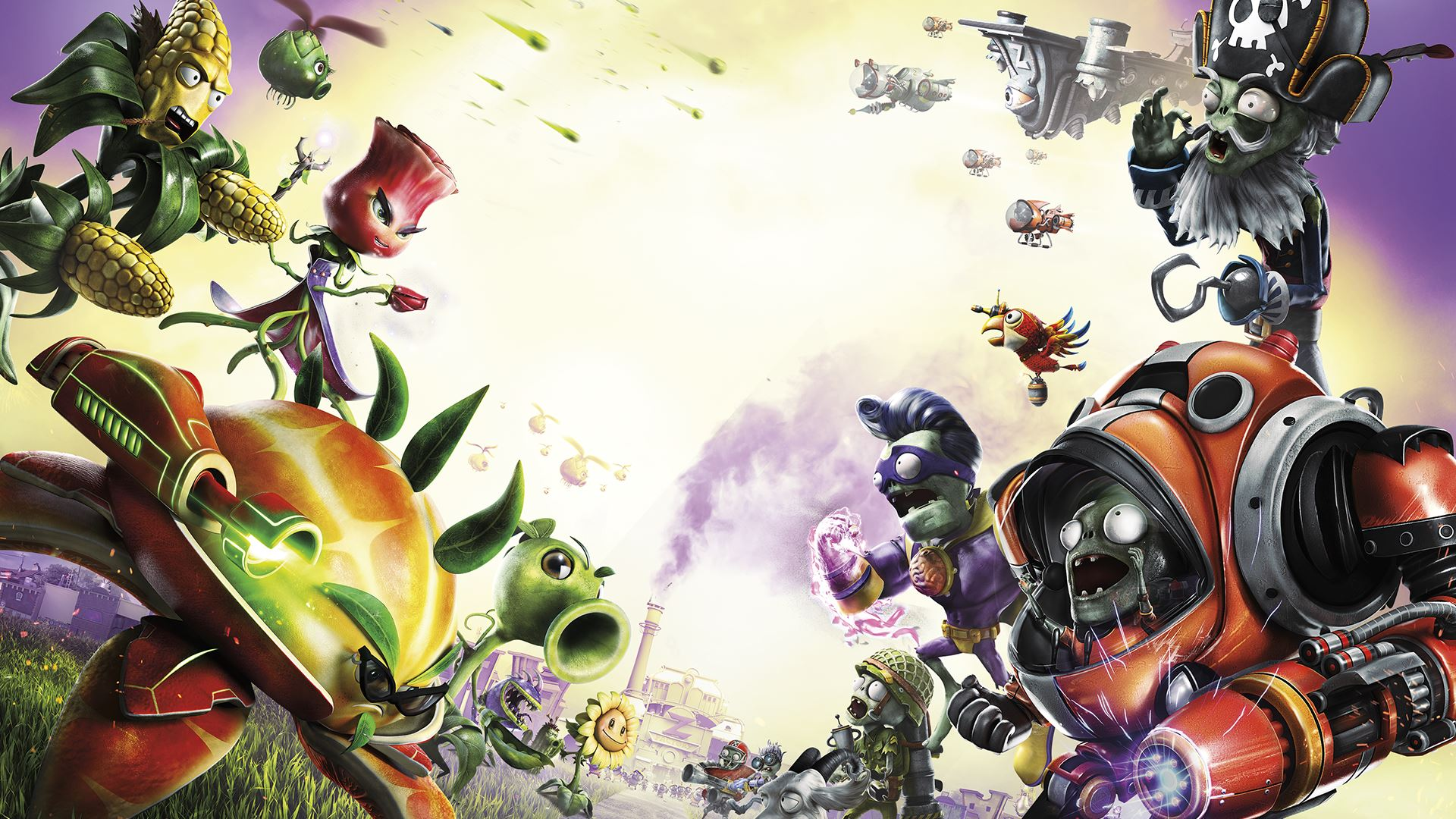 Plants Vs Zombies Garden Warfare 2 Solo Mode Trailer Revealed Attack Of The Fanboy