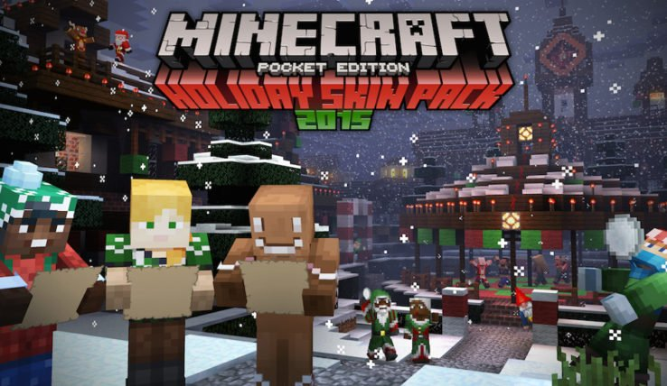 Minecraft-Holiday-Skin-Pack-2015-738x428