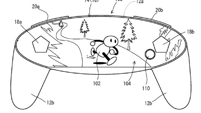 did nintendo patent a controller for the nx console