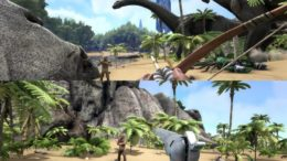 ARK: Survival Evolved Split-Screen Multiplayer (Xbox One)
