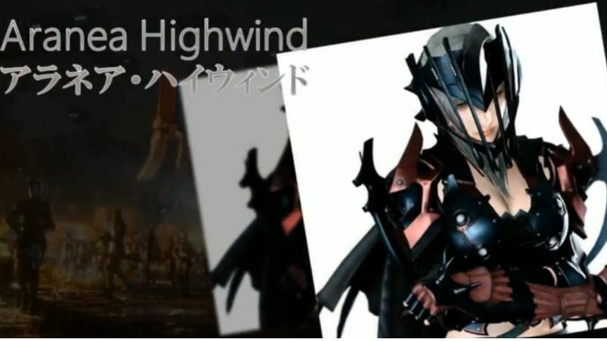 Character Design Final Fantasy Xv : New female villain in final fantasy xv is called aranea