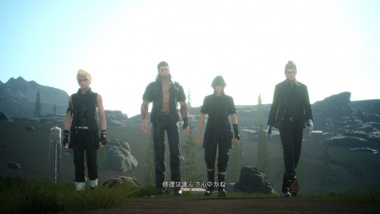 Final Fantasy XV's December Update Will Add On the Fly Character Swapping