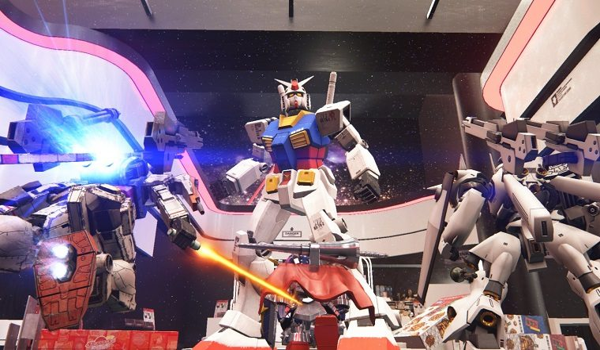 videos playstation Gundam Breaker 3 Bandai Namco