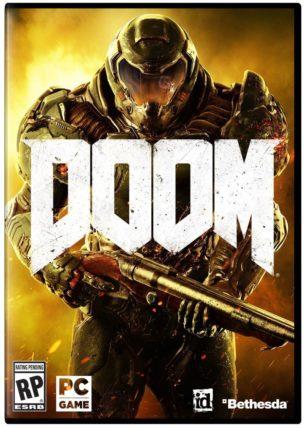 Doom Cover Art Release Causes Fan Backlash News  id Software DOOM Bethesda