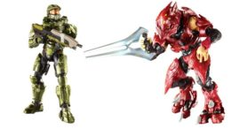 Halo Toys - Master Chief and Elite