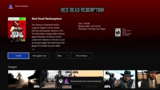 Red Dead Redemption Will Join Xbox One Backwards Compatibility Game List