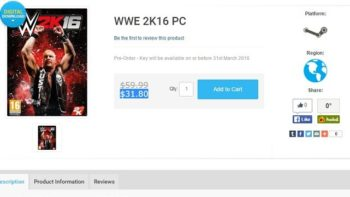 Rumor: WWE 2K16 For PC To Be Released Very Soon