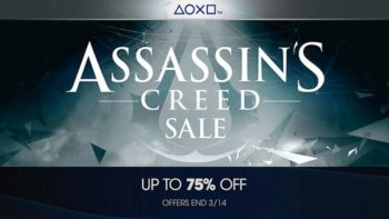 PlayStation Store's Assassin's Creed Sale Spans The Entire Series