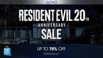 PlayStation Store Eight Week Game Franchise Sale Kicks Off With Resident Evil 20th Anniversary Celebration