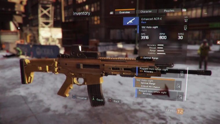 How To Craft High End Weapons In The Division