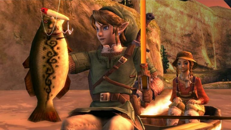 The Legend of Zelda Twilight Princess HD Guide How to Fish