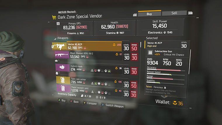 the-division-dark-zone-special-vendor