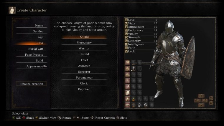 Dark Souls 3 Class Guide: Which Class to Pick - Attack of the Fanboy