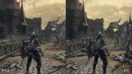 Dark Souls 3 PC PS4 Comparison