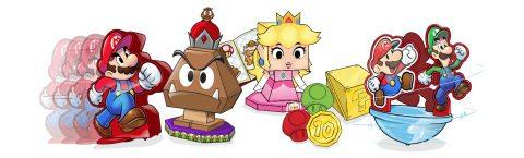 Mario & Luigi: Paper Jam Sonic Drive-In Toys