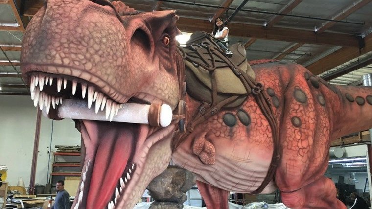 5f932d31f8 ARK: Survival Evolved Bringing 16 Foot Rideable T-Rex To PAX East ...
