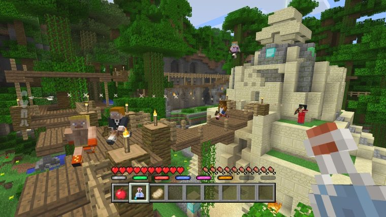 Image result for minecraft gameplay