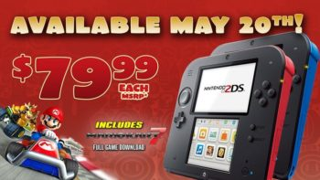 Nintendo 2DS Price Dropped To $79