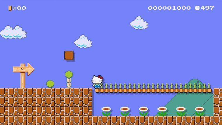 Super-Mario-Maker-Hello-Kitty