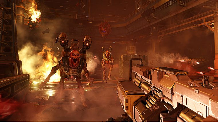 Free DOOM Update Adds Deathmatch And Private Matches