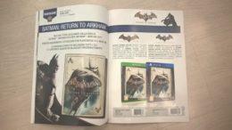 Magazine Shows Batman: Return To Arkham HD Collection Box-Art