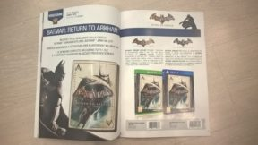 Magazine Shows Batman: Return To Arkham HD Collection Box-Art