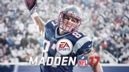 Madden NFL 17 Cover Rob Grownkowski