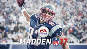 Gronkowski Officially Spikes Madden NFL 17 Cover