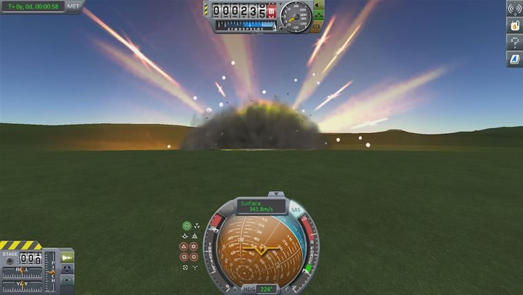 Xbox One Kerbal Space Program