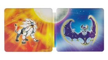 Pokemon Sun And Moon Steelbook Dual Pack Unveiled Along With Two New Pokemon