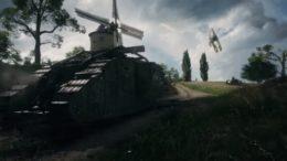 Battlefield 1 vehicles