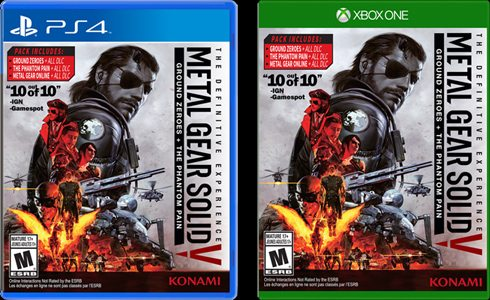 Metal Gear Solid V: The Definitive Experience Has Been Confirmed By