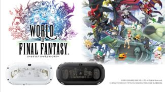 New World of Final Fantasy PS Vita Models Revealed In Japan