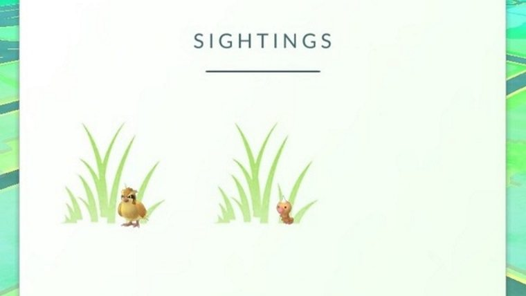 Pokemon Go Guide: What is Sightings and How Does it Work GameGuides Mobile  Pokemon Go Guides Pokemon Go Pokemon
