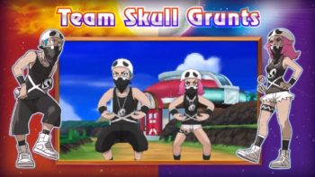 Pokemon Sun and Moon Trailer Reveals Team Skull and More New Pokemon