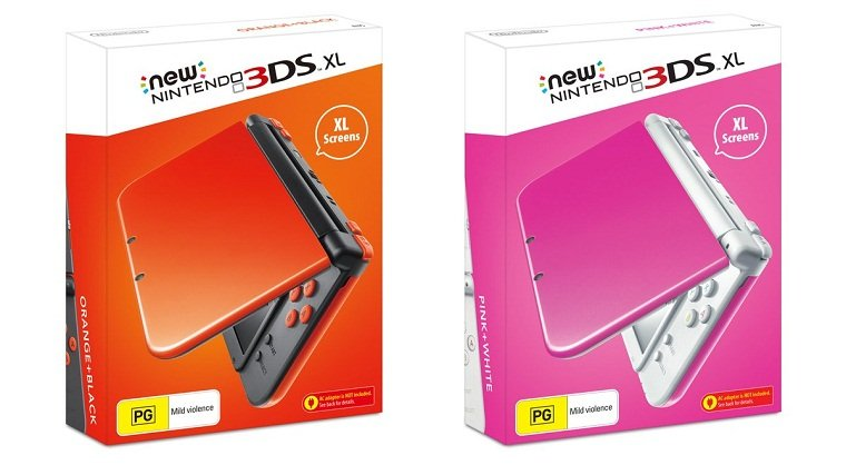 Nintendo 3ds Xl Colors : New nintendo ds xl consoles getting colors in europe