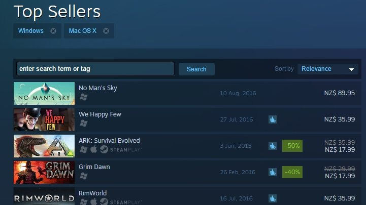 No Man's Sky PC Already A Top Seller On Steam Before It's Even Out News PC Gaming  No Man's Sky
