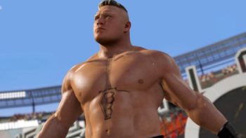 Rumor: First WWE 2K17 Screenshots Leaked For Brock Lesnar And More