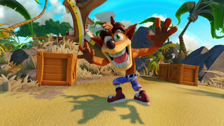 Celebrate Crash Bandicoot's 20th Anniversary With Skylanders: Imaginators Trailer News PlayStation Videos  Skylanders Imaginators Crash Bandicoot