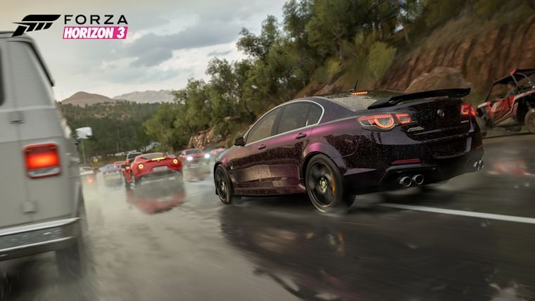 Forza Horizon 3 Guide: How To Make Sharp Turns Effectively - Attack