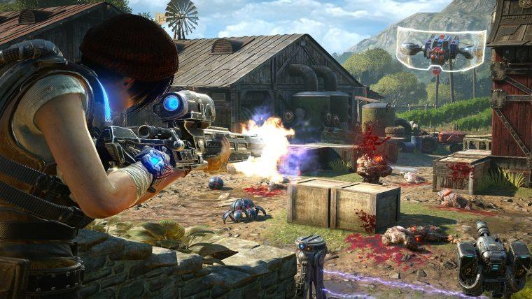 Gears of War 4 Horde 3.0 PAX 2